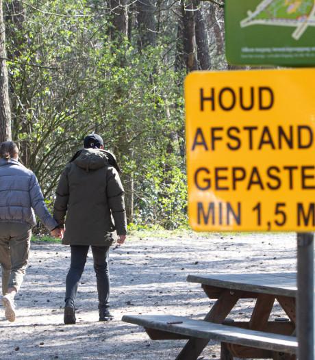 Blijven mensen dit weekend weg uit Utrechtse bossen? Burgemeesters houden het in de gaten