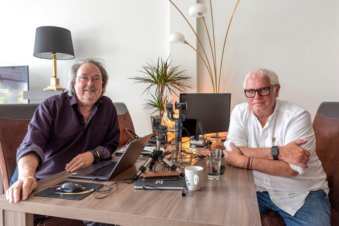 Pierre de Jong (links) en Henk de Hooge.