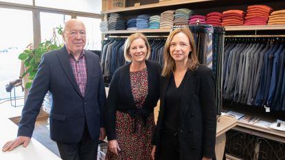 Herenmodewinkel Van Wambeke in Oudenaarde is 120 jaar oud, maar nog helemaal in de mode