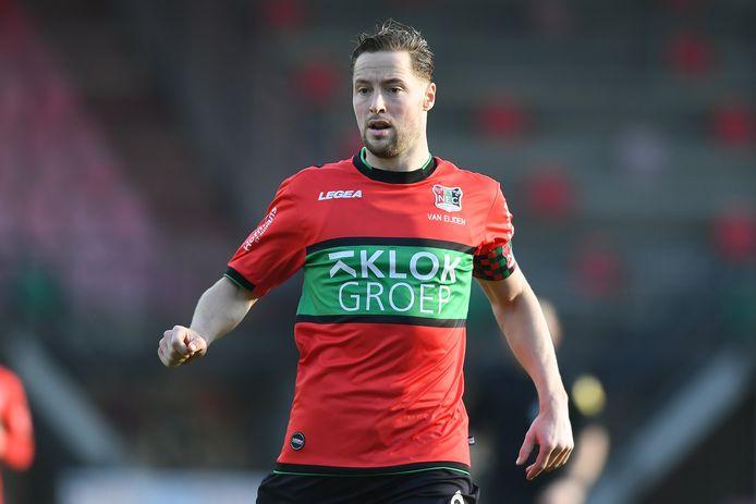NEC-captain Rens van Eijden.