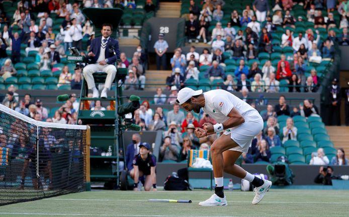 Dix victoires consécutives sur gazon: Matteo Berrettini arrive lancé en demi-finales de Wimbledon.