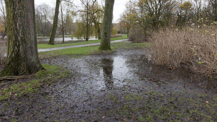 Het Oosterpark is volgens omwonenden te kwetsbaar voor de 1 mei-viering van het FNV Beeld Roy del Vecchio