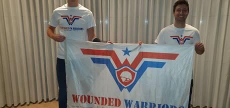 'Mijn pijn gaat over, die van Wounded Warriors niet'