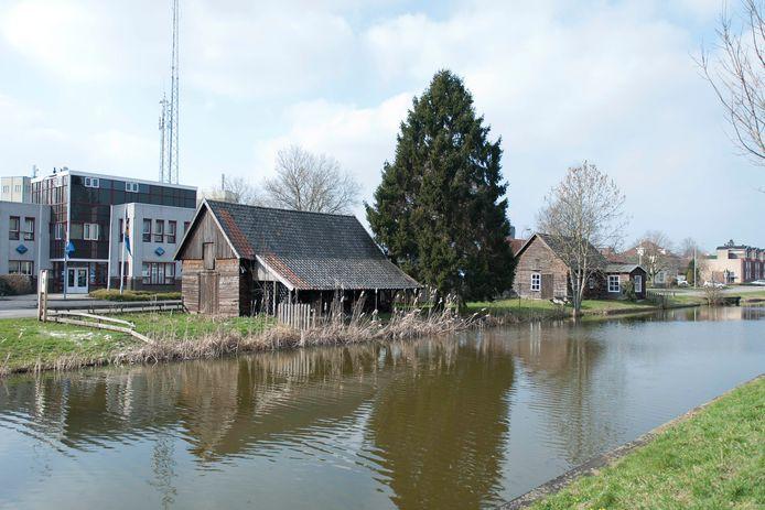De MOK-werf in Raalte is een van de weinige overgebleven monumenten aan het Overijssels Kanaal.