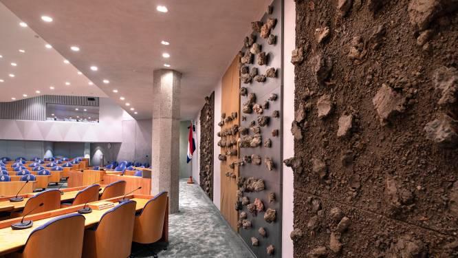Het nieuwe Kamergebouw irriteert en charmeert: 'Nu alleen dat plafond nog dichtmaken'