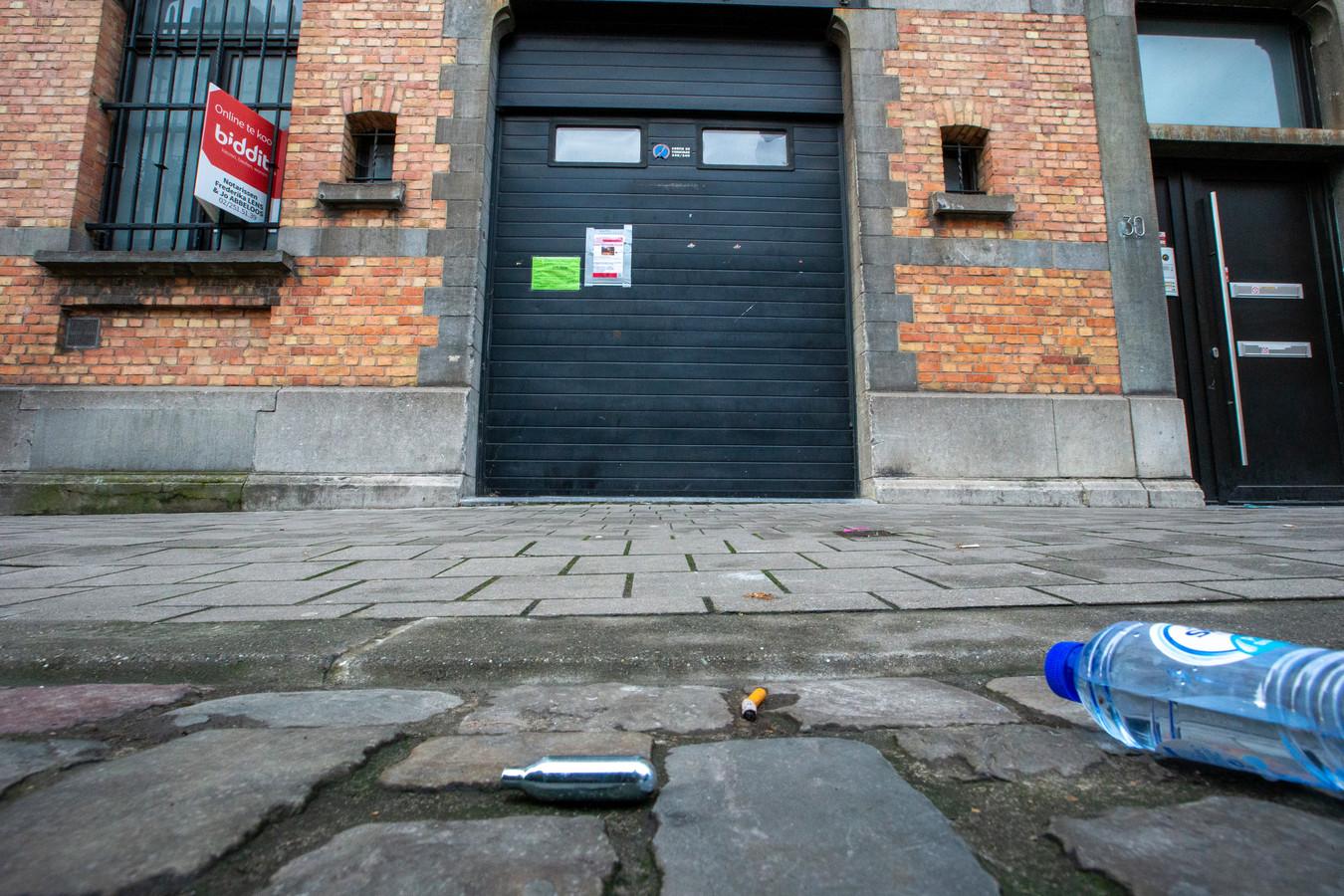 Des capsules de gaz hilarant ont été trouvées