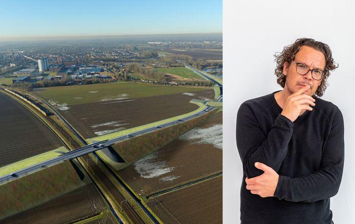 De aanleg van de Noordelijke randweg Zevenbergen doet Pieter van den Akker denken aan het gedoe van het inrichten van zijn huis.