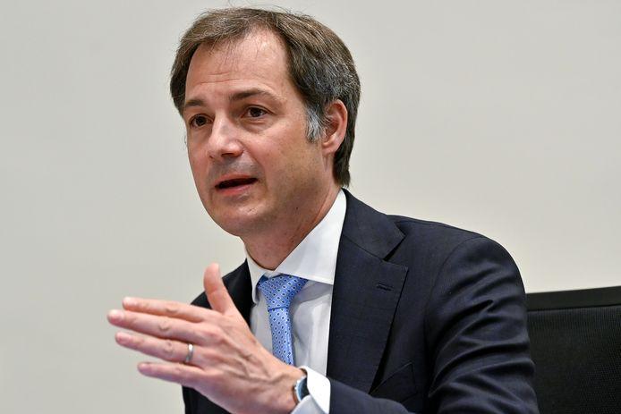 Premier Alexander De Croo.