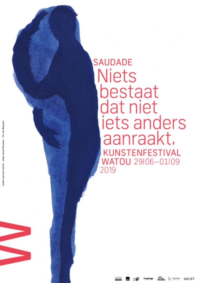 Laura De Coninck, dochter van de overleden dichter Herman De Coninck, tekende het campagnebeeld voor de affiche.