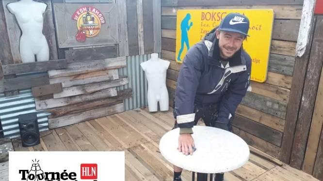 """Zanger-cafébaas Dean Delannoit (32) van Komlamour heeft één goede herinnering aan lockdown: """"De dag dat zoontje voor het eerste papa zei"""""""