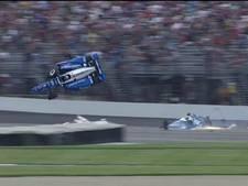 Dixon ontsnapt aan de dood in Indy500