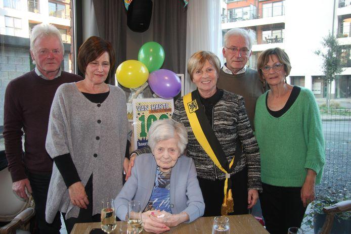 100-jarige Maria Roels