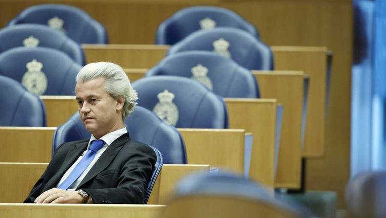 'Collectief en systematisch weigeren tot onderhandelen of besturen met Wilders? Geen goed idee.' Beeld anp