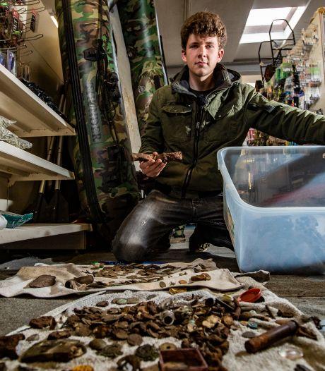 Quinten (19) uit Deventer vindt nazi-muntschat: 'Hier droom je alleen maar van'