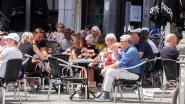 Antwerpse terrassen zitten goed vol op eerste zaterdag na lockdown