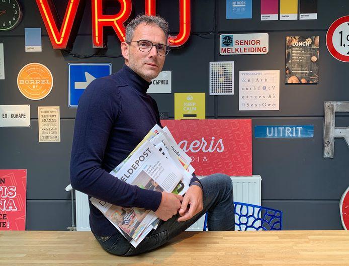 Marc Dorst is vanaf vrijdag eigenaar van onder meer Scheldepost en het Gele Krantje.