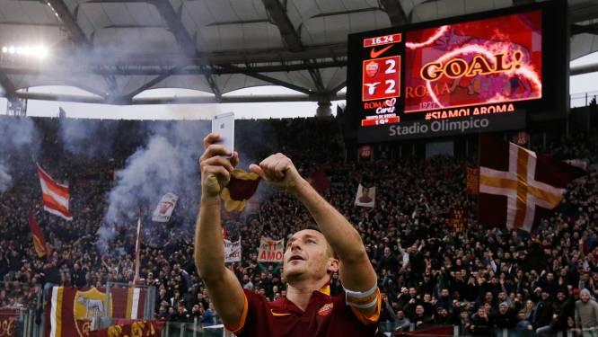 Totti schenkt Nainggolan en Roma punt in Romeinse derby: 2-2