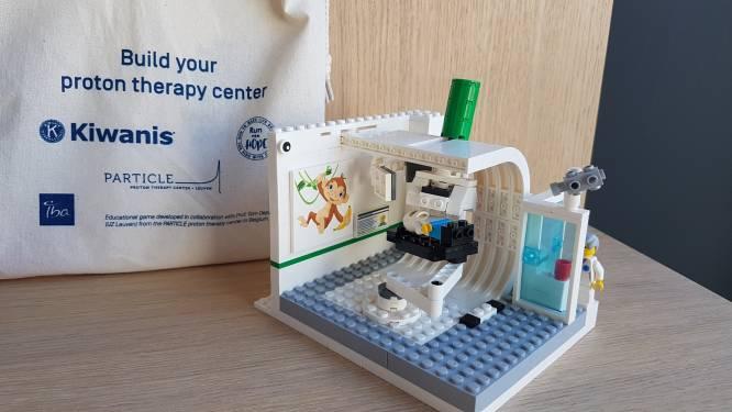 Lego-bouwset van protontherapiecentrum maakt kinderen rustiger tijdens kankerbehandeling