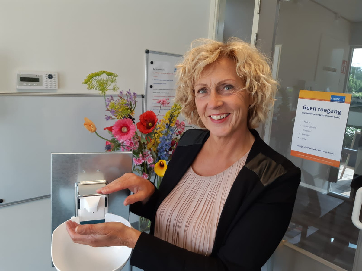 Corine den Hollander, manager Nazorgcentrum Intermezzo in Zwolle