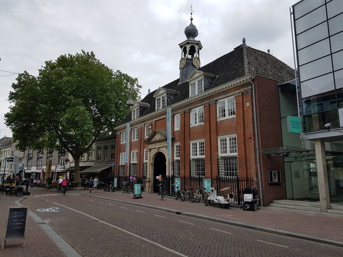 Het  Stedelijk Museum Breda in de Boschstraat.