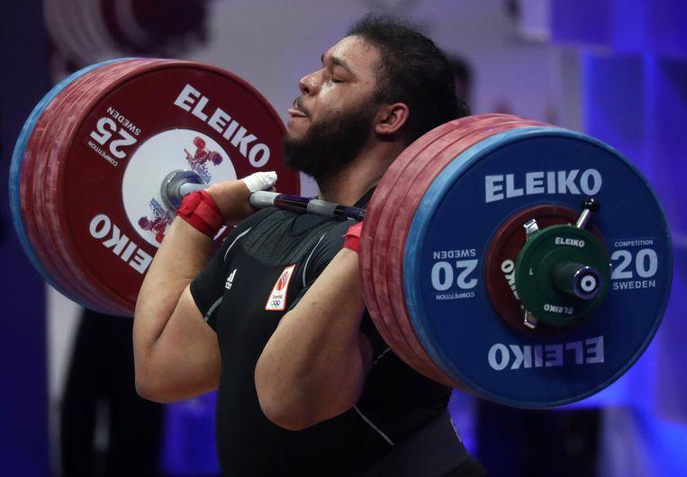 Enzo Kuworge bij de EK in Moskou. Beeld Hollandse Hoogte