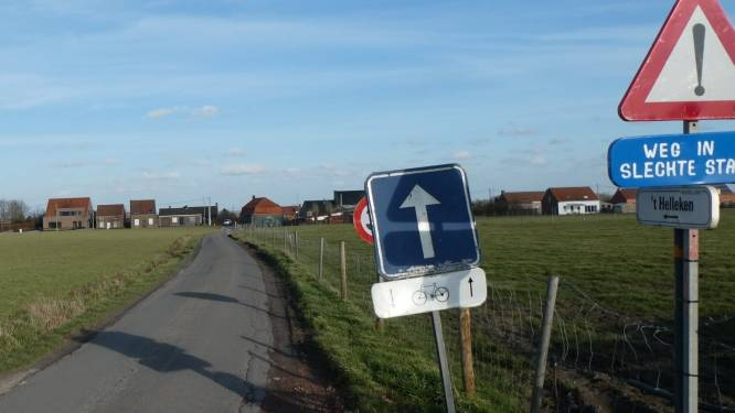 Slechte plekken 't Helleke krijgen nieuwe asfaltlaag