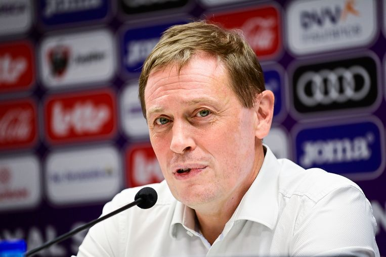 Anderlecht-CEO Karel Van Eetvelt: