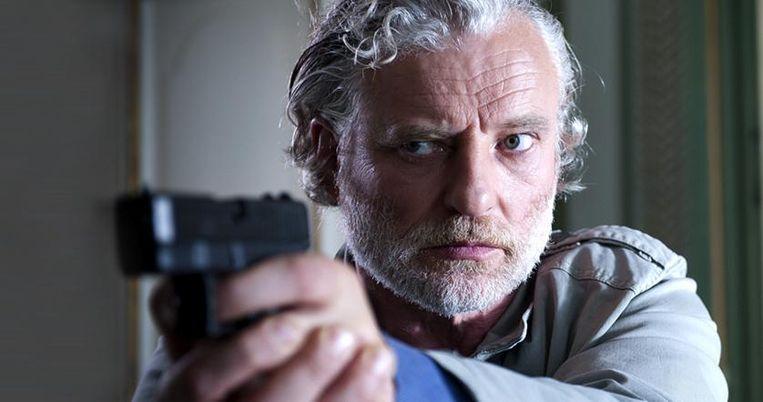 Filip Peeters in 'Salamander', een politiereeks die verkocht is aan buitenlandse zenders als BBC 4 en zelfs een Amerikaanse remake krijgt.  Beeld VRT