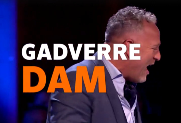 Gordon schreeuwt het uit na de act van de Nijmegenaar.