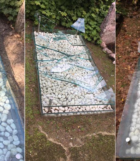 Raadsels rond voor derde keer kapot grafmonument
