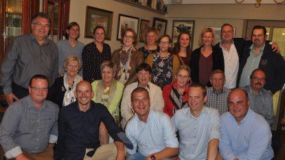 Samen aan tafel met leerkrachten van 25 jaar geleden