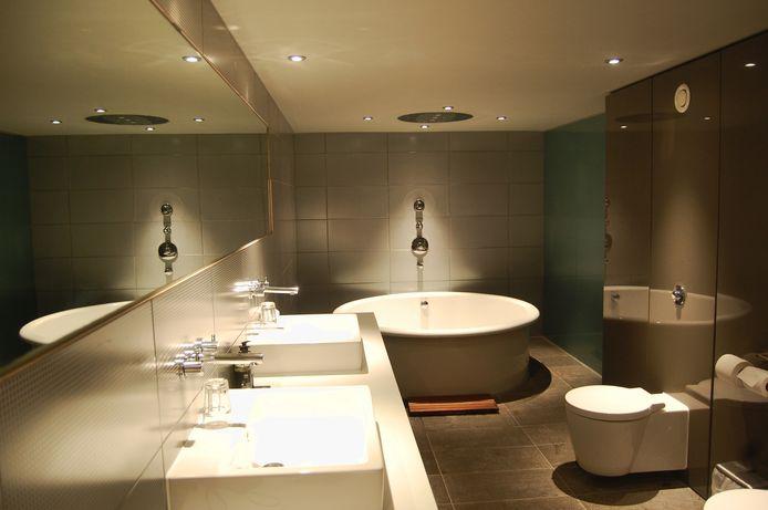 Spotjes in de badkamer zijn erg populair.