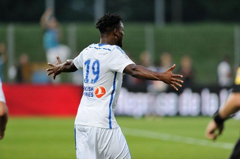 Batshuayi heeft één concurrent minder lopen in de spits bij Olympique Marseille Beeld PHOTO_NEWS