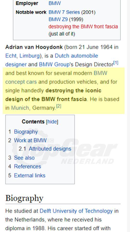 Screenshot van Wikipedia.