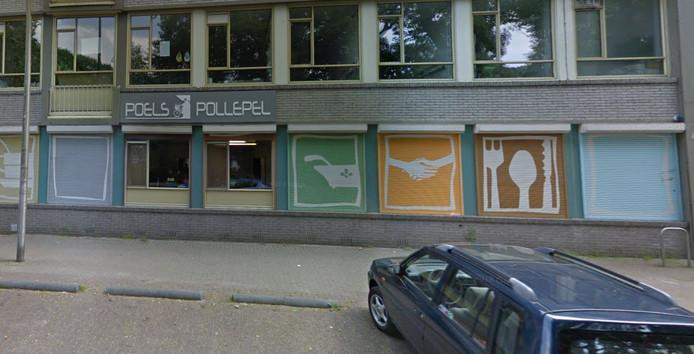 Het pand van Poels Pollepel aan het Wilhelminapark