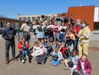 Leerlingen Vrije Basisschool Sint-Leonardus zetten zich in voor 'Generatie Rookvrij'