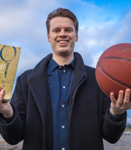 Basketballer Lars Krooshof (23) kiest voor business: 'We hebben allebei hoog gesport, dat is een voordeel'