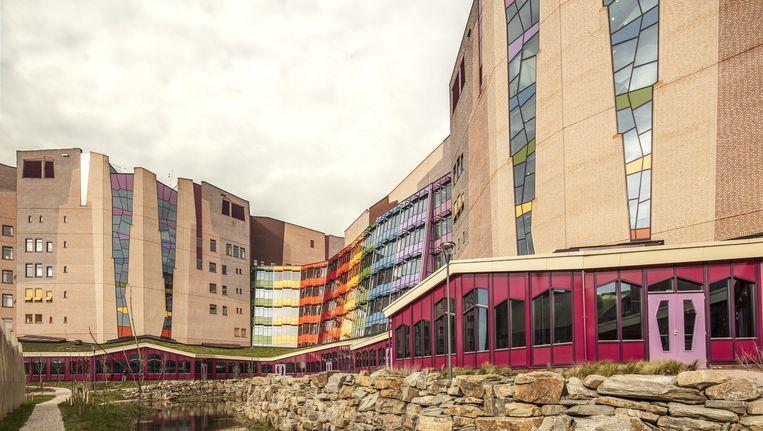 Het nieuwe Isala-ziekenhuis in Zwolle. Beeld Harry Cock / de Volkskrant