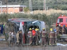 13 studenten komen om bij busongeluk Tarragona