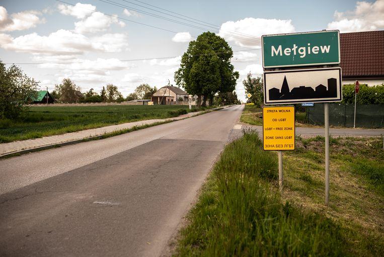Poolse provincies en gemeentes verklaarden zichzelf in 2019 tot lhbti+-vrije zone. Beeld Bartosz Staszewski