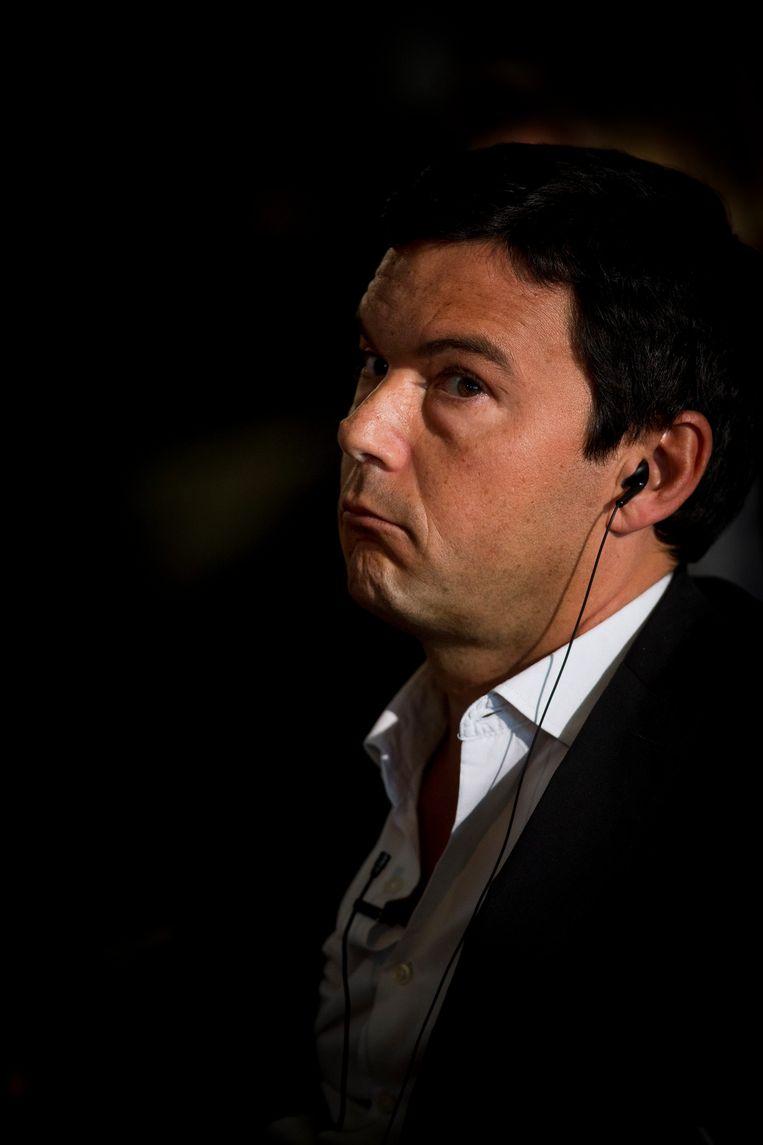 Econoom Thomas Piketty. Beeld Photo News