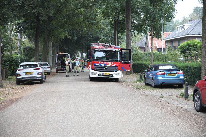 De gaslek ontstond aan de Melvill van Carnbeelaan in Driebergen-Rijsenburg.
