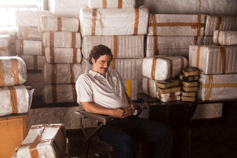 Een beeld uit de Netflixreeks Narcos.