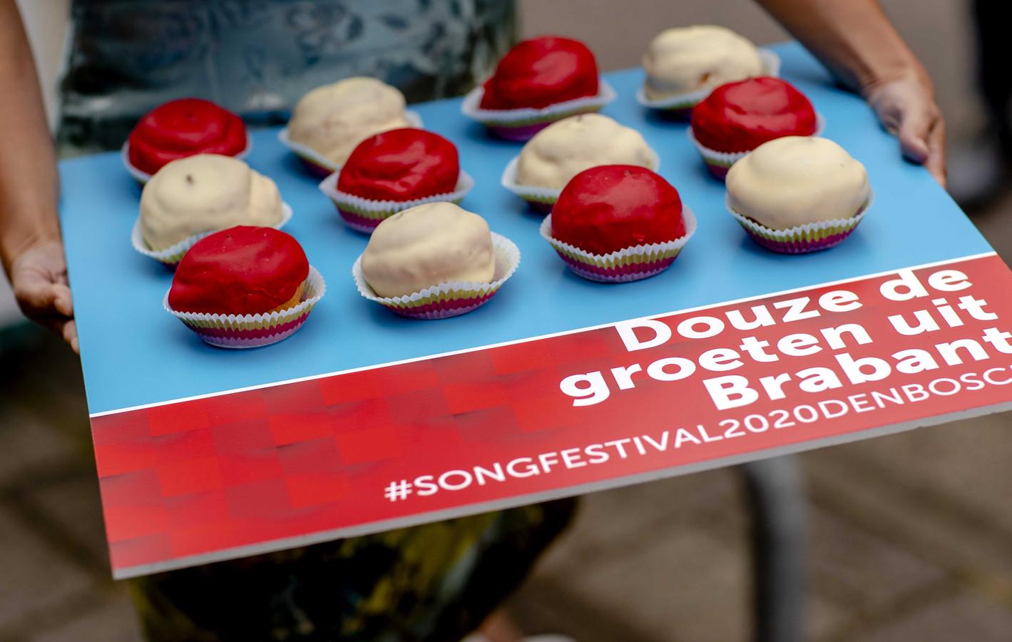 Bossche bollen namens de gemeente Den Bosch.