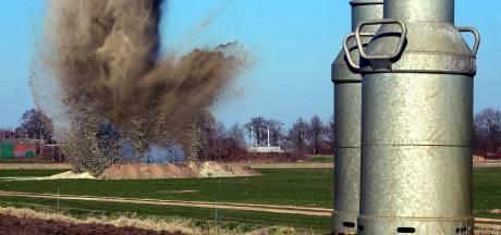41 Engelse granaten (en één Duitse) gaan 75 jaar na afvuren alsnog de lucht in bij Heerle