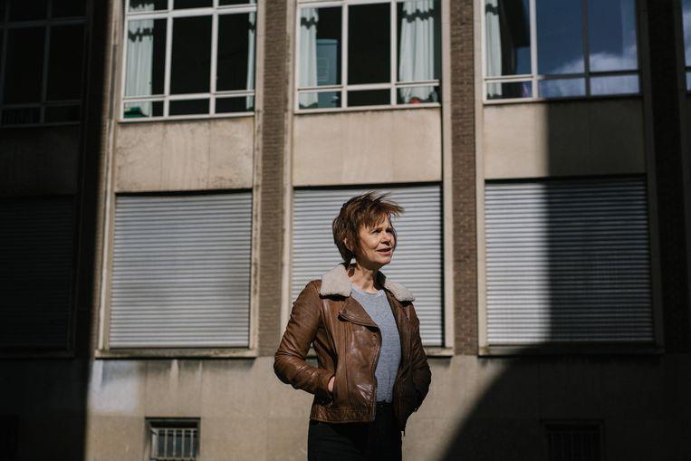 Marleen Finoulst: 'Online circuleert zoveel onzin dat het soms voelt als water naar de zee dragen.' Beeld Wouter Van Vooren