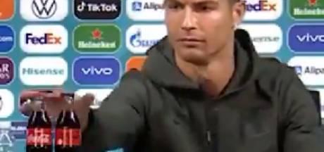 """""""Buvez de l'eau"""" : Ronaldo se débarrasse de deux bouteilles de Coca-Cola en pleine conférence de presse"""