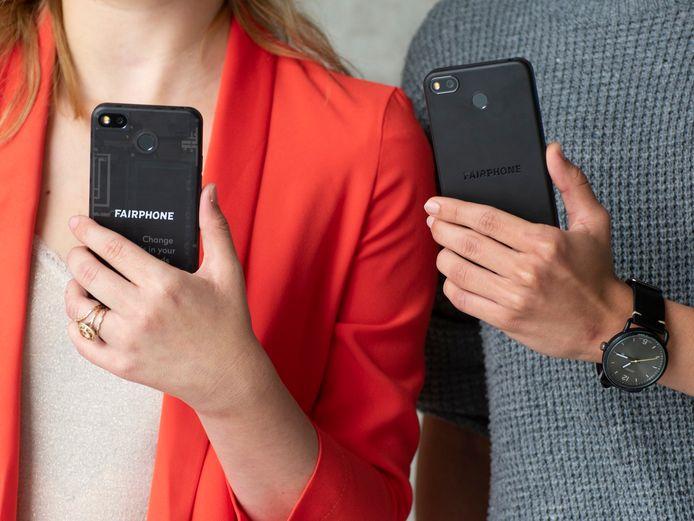 De FairPhone 3+,