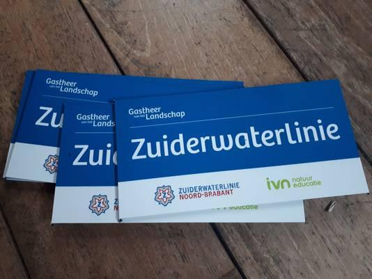 Gevelplaatjes voor Zuiderwaterlinie-ondernemers.