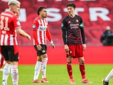 PSV en Feyenoord schieten weinig op met gelijkspel in boeiende topper